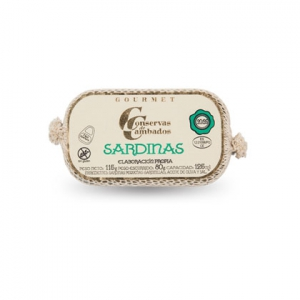 Distributeur conserves espagnoles: Mini sardines à l'huile d'olive Conservas de Cambados