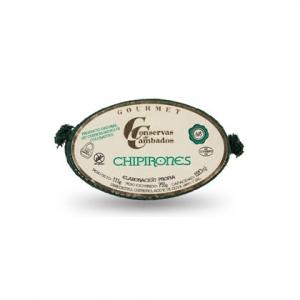 Grossiste conserves espagnoles: calamars à l'huile d'olive et dans leur encre Conservas de Cambados
