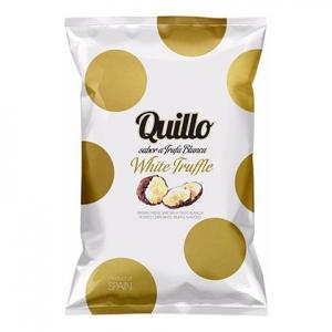 Distributeur de produits espagnols: Chips à la truffe blanche Quillo